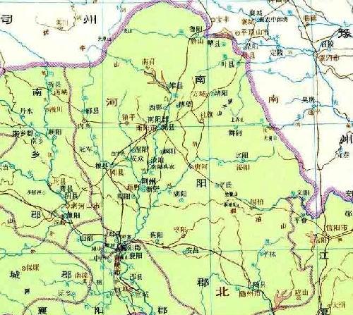 中国历史地图集 标注的 邓 国 邑 位置代表着国家权威