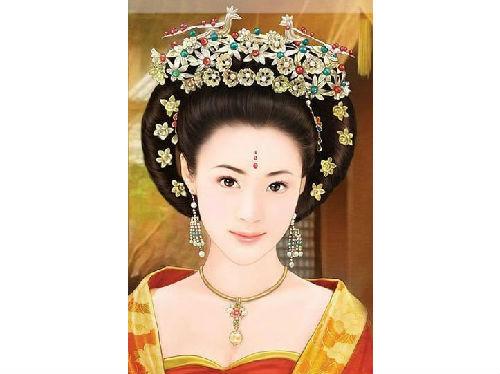 专辑:团子rabbit手绘设计中国古代后妃嫔头饰高清图片